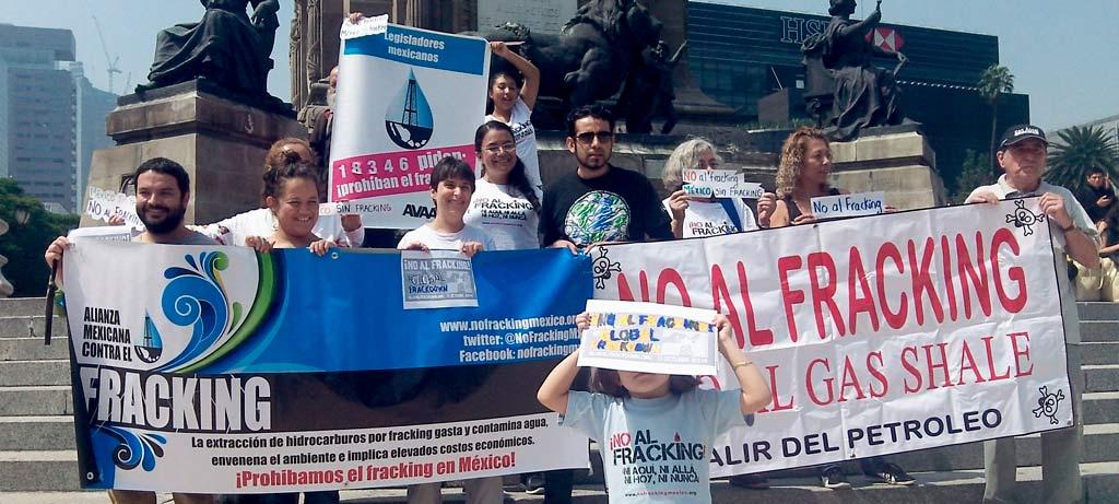 Imagen de firmas contra el fracking